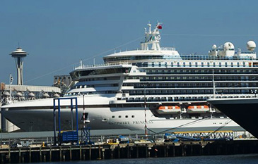 Cruise Ships in Seattle